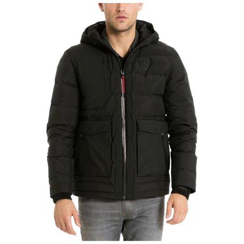 Puma ferrari down jacket black