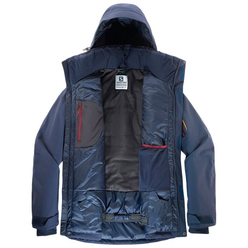 Куртка г/л Salomon BRILLIANT JKT M NIGHT SKY FW18-19