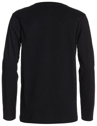 Футболка Quiksilver LS BRT T YTH D7 B TEES Anthracite-Solid
