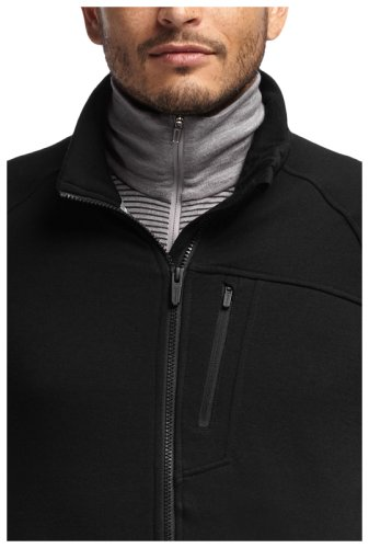 Кофта Icebreaker Sierra LS Zip MEN black