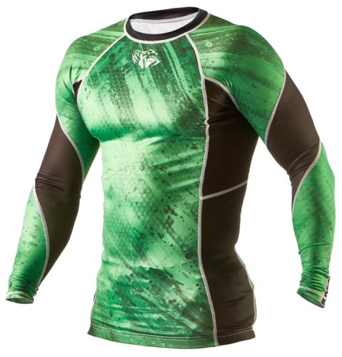 Футболка Peresvit Immortal Silver Force Rashguard Long Sleeve Green Lantern